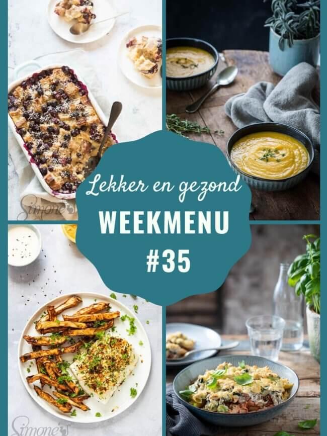 weekmenu week 35