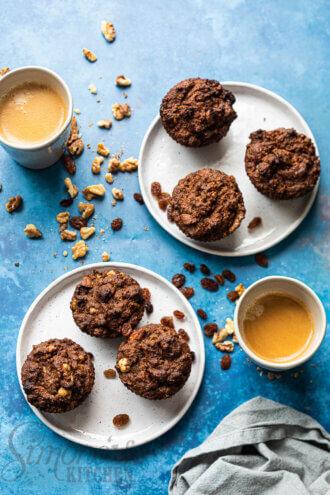paleo koffie kruidkoek muffins