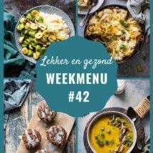 weekmenu week 42