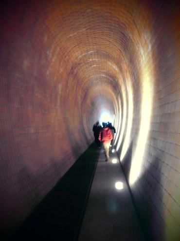 Tunnel zum Hirschgraben