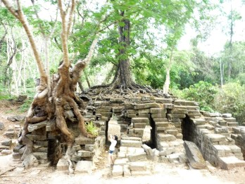 Ankor Wat Tempelanlage in Kambodscha