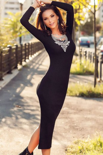 black-long-sleeve-ribbed-knit-bodycon-sweater-dress-024451
