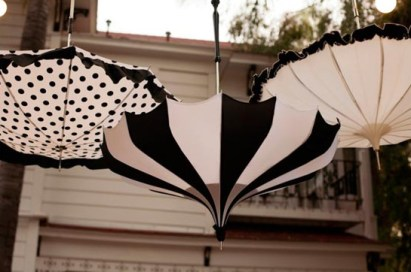 wedding-umbrella-black-white