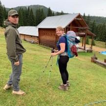 Ready to go - laatste wandeldag Balkantocht