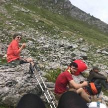 Uitrusten op de berg Doberdol