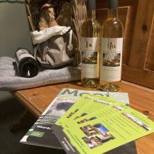 Lokale wijnen van wijngaard Montferland