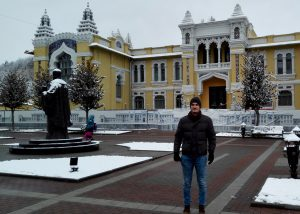 Die Innenstadt Kislovodsks ist einen oder mehrere Spaziergänge wert.