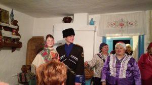 Gauthier und Georgia heiraten wie die alten Kosaken und beenden damit französisch-englische Zwistigkeiten für immer.