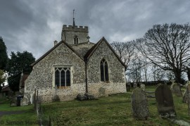 Pictures of St Giles Church in Codicote - the church