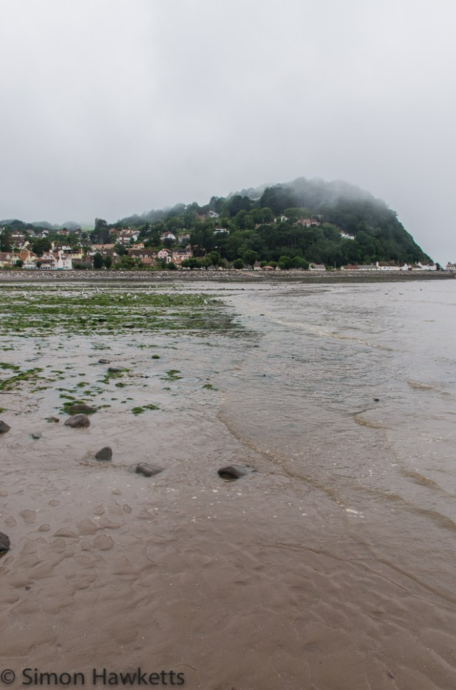 Murky day on Minehead beach 2