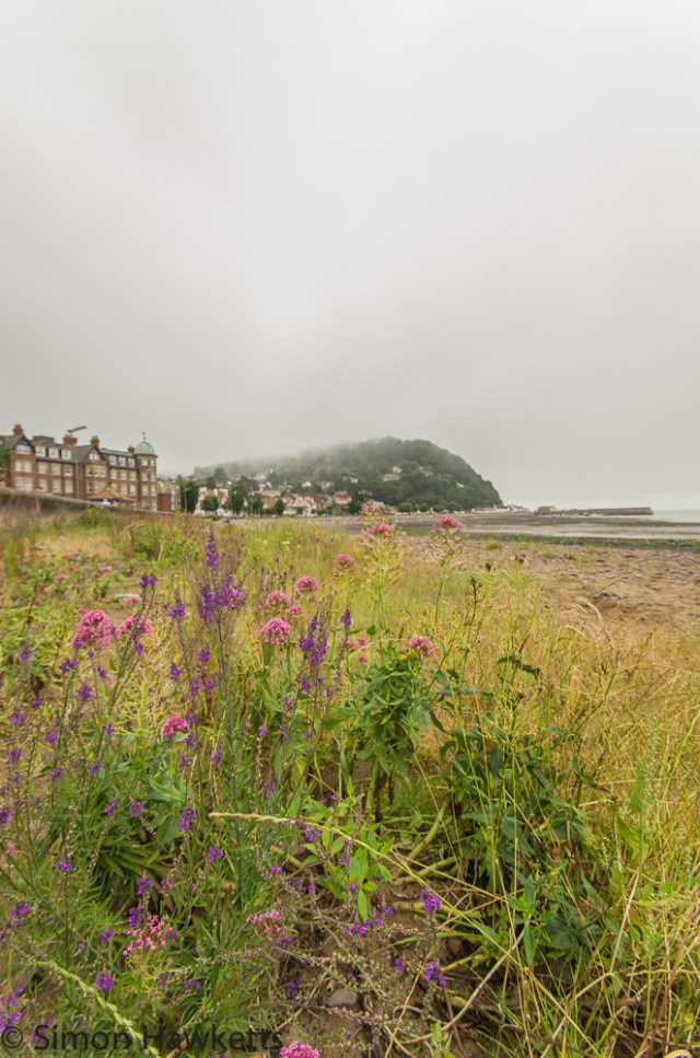 Murky day on Minehead beach 1