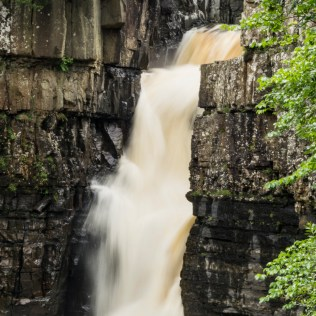 Long Exposure shot of the High Force waterfall