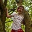 Ricoh GXR S10 lens - Little girl climbing a tree
