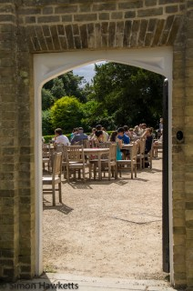 Wimpole Hall in Cambridgeshire pictures - The restaurant