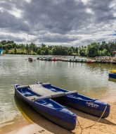 Nottingham CenterParcs Pictures - Catamaran by the lake