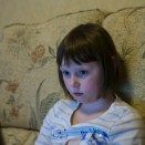 Sony Nex 6 test shots - A young girl on a laptop