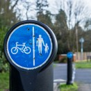 Industar 61 on Sony Nex 6 sample picture - Cycle and pedestrian track