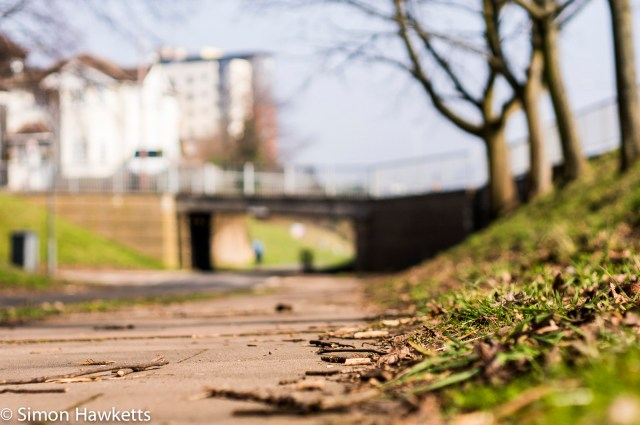 Pentax SMC 50mm f/1.7 prime lens samples - Cycle path