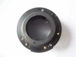 Praktica PLC 3 35mm slr camera - Contacts on the bottom of the lens