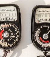 Weston III and Weston II vintage light meters