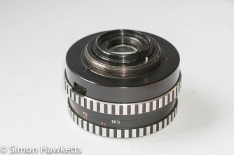 Carl Jeiss Jena 50mm bottom view