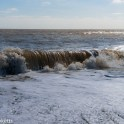 Dunwich Heath Suffolk pictures - Waves breaking
