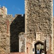 Pictures of Framlingham in Suffolk - Framlingham Castle entrance