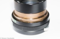 Helios 44M focus thread cleanup - lens helicoid and screw holes