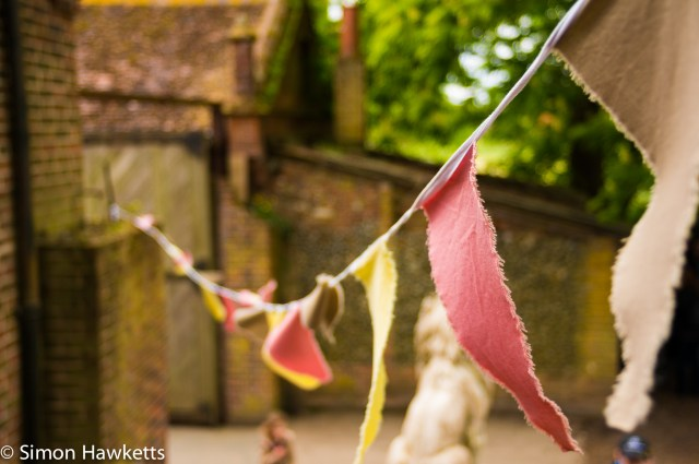 Kentwell Hall Tudor day pictures - Bunting