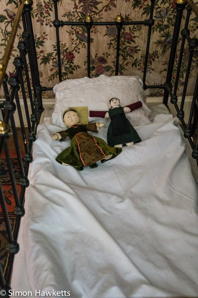 Kentwell Hall Tudor day pictures - Child's cot