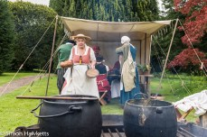 Kentwell Hall Tudor day pictures - Cooking