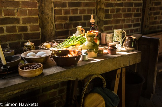 Kentwell Hall Tudor day pictures - Provisions