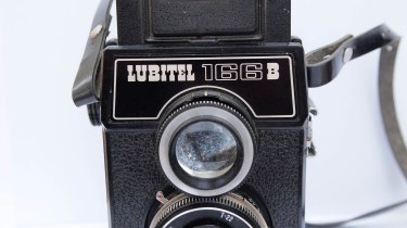 Lubitel 166B TLR - front view