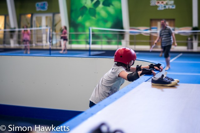 Pictures from Woburn Forest CenterParcs - Rollerskating