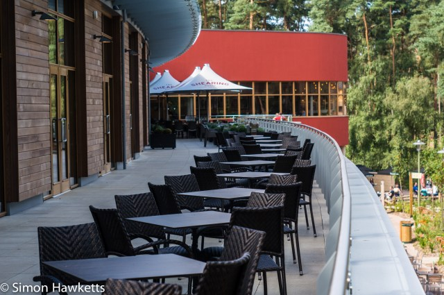 Pictures from Woburn Forest CenterParcs - Tables at the Vanue