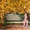 Pictures from Bressingham gardens in Norfolk - Small girl taking a photo