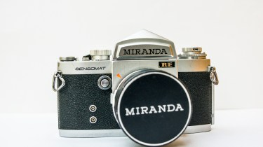 Miranda Sensomat RE 35mm slr camera