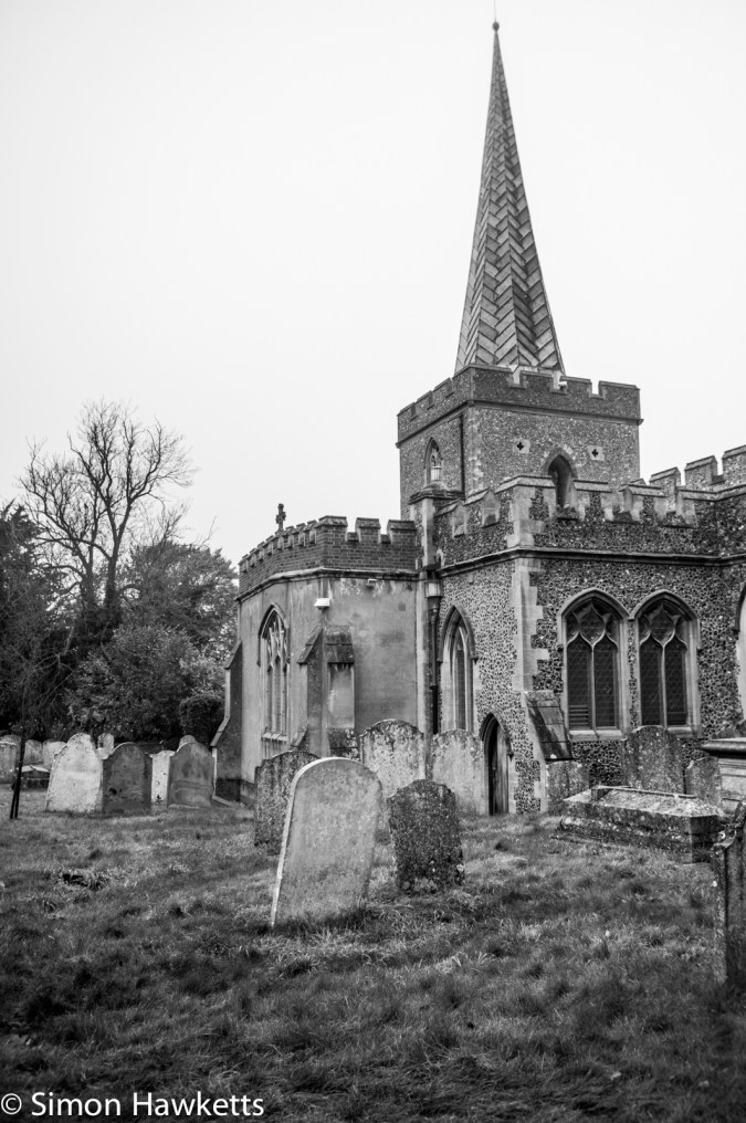 Sony NEX 6 with takumar and camdiox pictures - St Nicholas Church Stevenage