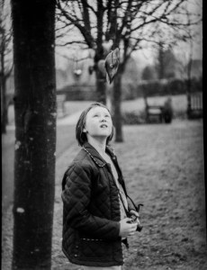 Caffenol-C-M sample pictures - A girl with a camera