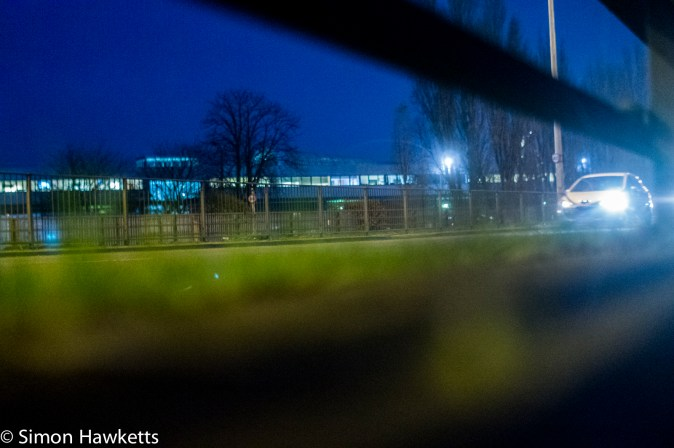 Sony NEX 6 high ISO performance sample pictures - Traffic @ iso6400
