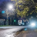 Sony NEX 6 high ISO performance sample pictures - Street lights @ iso12800