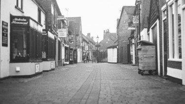 Caffenol C-M duplicated negative - Stevenage old town