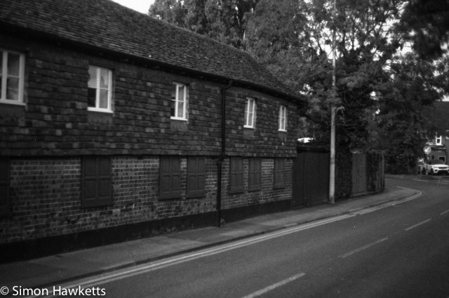 Caffenol C-M scan - Stevenage old town house