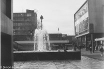 Caffenol sample picture - The fountain in Stevenage