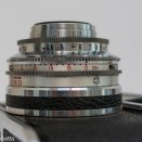 Voigtlander Vito automatic 35mm viewfinder camera showing film speed setting