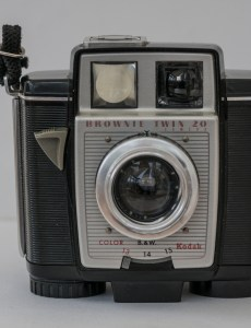 Kodak Brownie Twin 20 roll film camera
