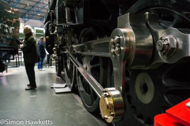 Nation Railway Museum pictures - An engine crank arm