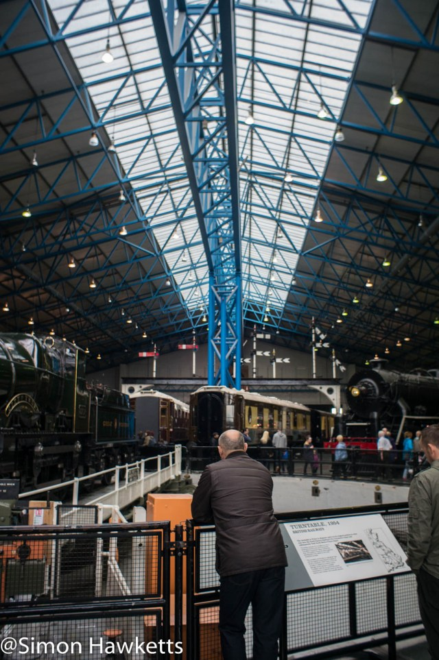 Nation Railway Museum pictures - Museum roof line