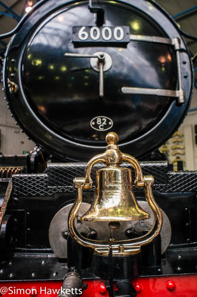 Nation Railway Museum pictures - Brass bell on the front of an engine