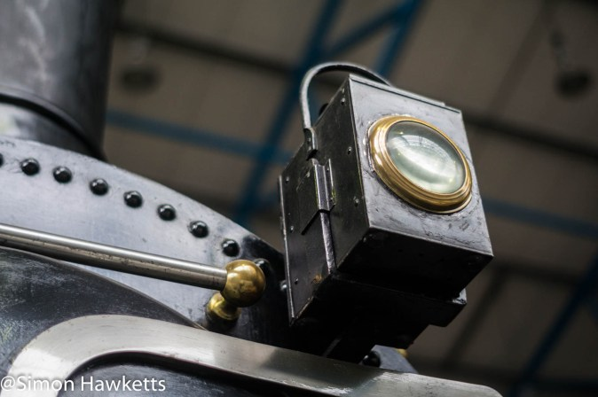 Nation Railway Museum pictures - Light on the front of a steam engine